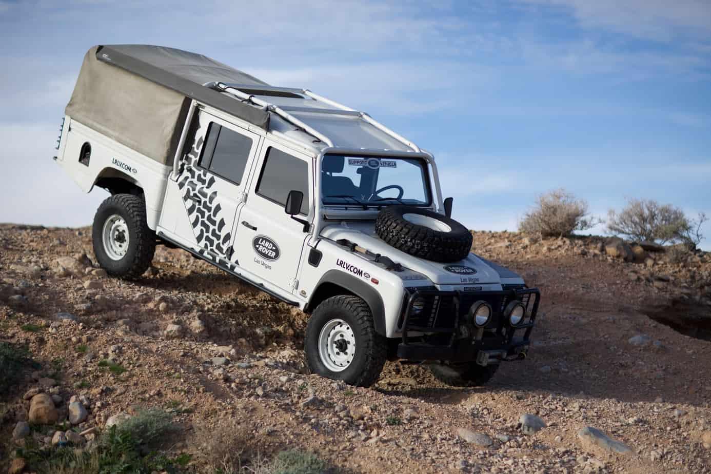 Land Rover Ambulance 130