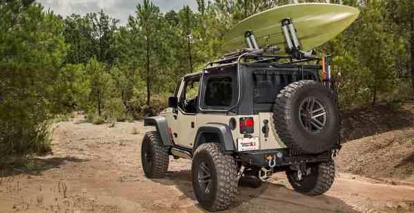 Camping Jeep Wrangler 2 Door - Year of Clean Water