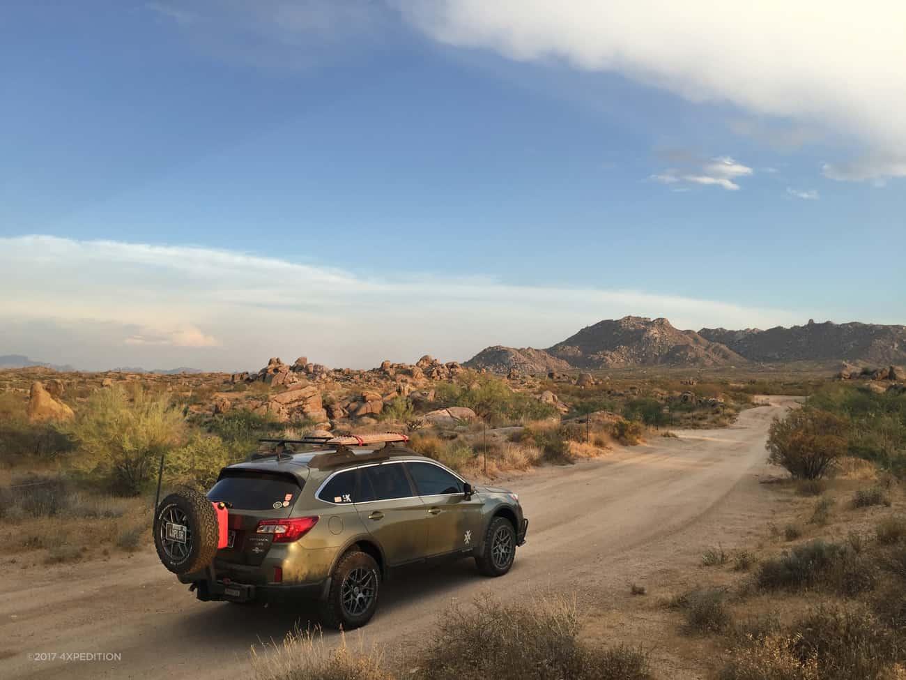 Backcountry Camper Trailer