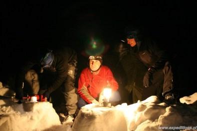 Kurs Zimowy i Polarny nocą
