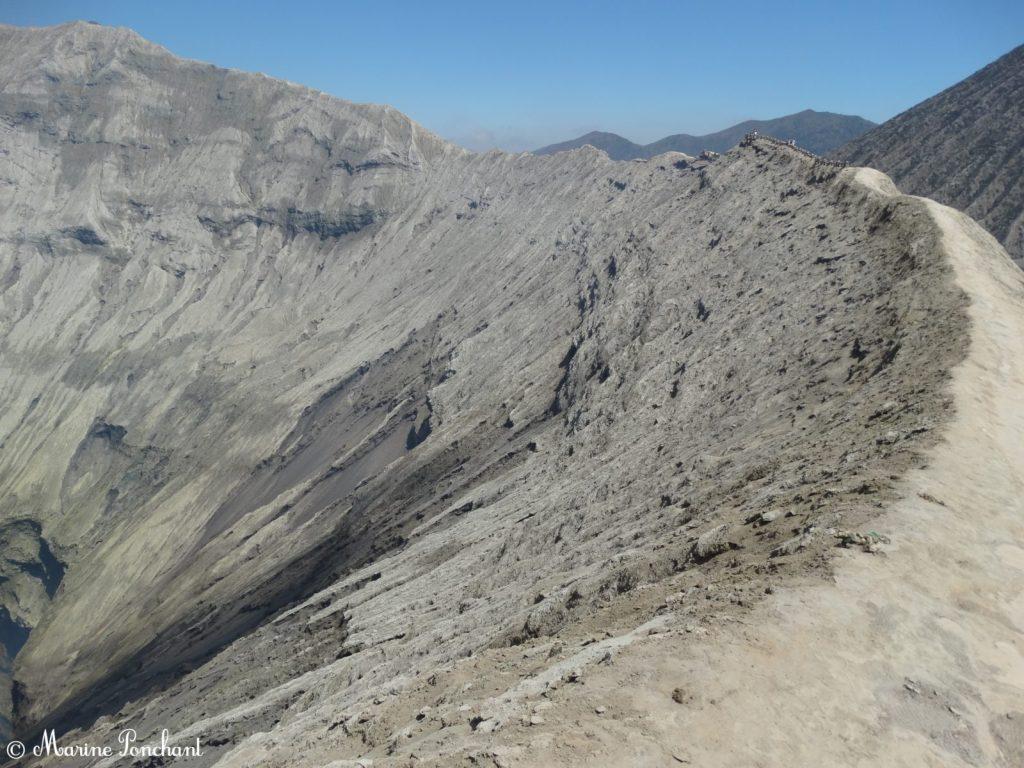 Flan droit du volcan Bromo