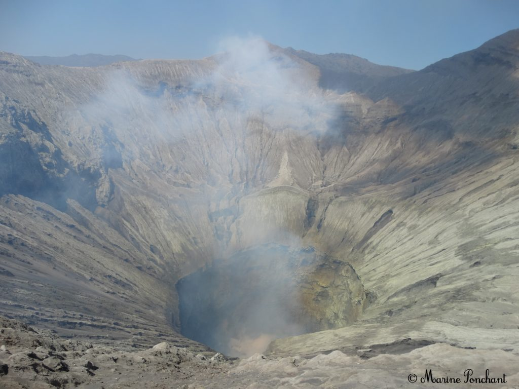 Photo du cratère du volcan Bromo
