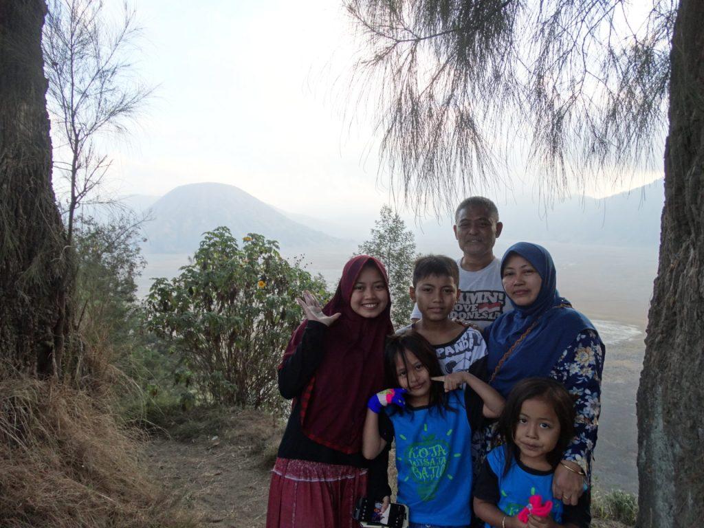 Photographie d'une famille indonésienne