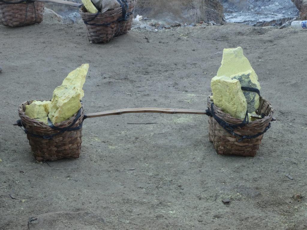 Souffre du volcan