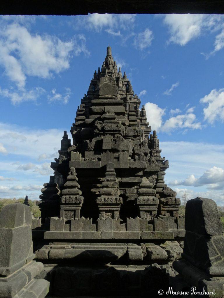 Une des multiples colonnes des temples