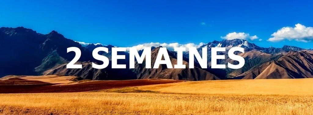 Une image panoramique du Pérou