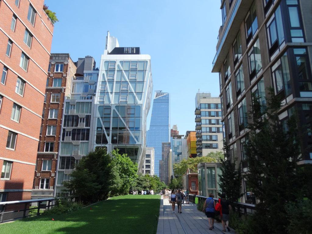 Entre verdure et buildings