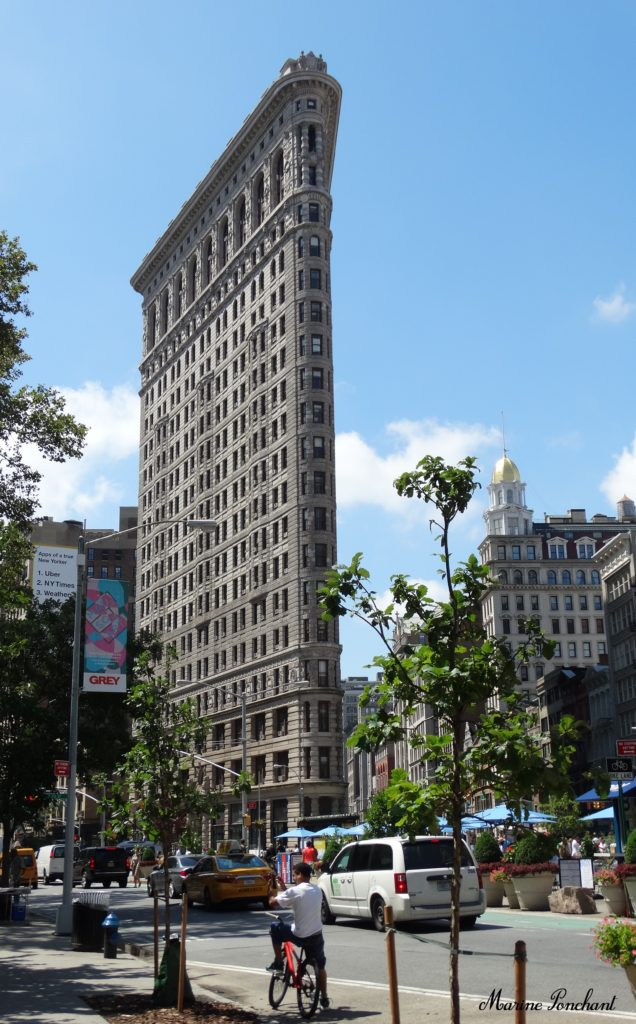 New York Flatiron Building