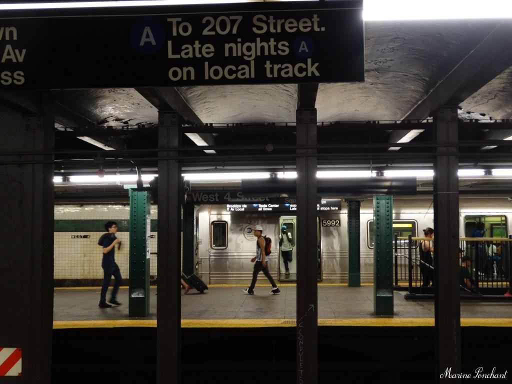 Station de métro new york