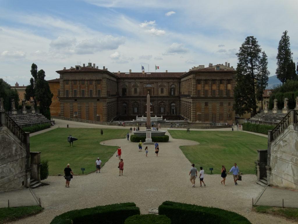 Jardin palazzo pitti