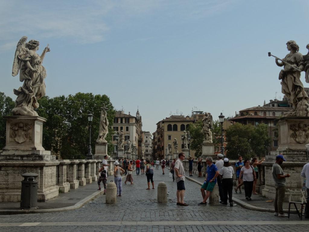 pont devant le château saint ange