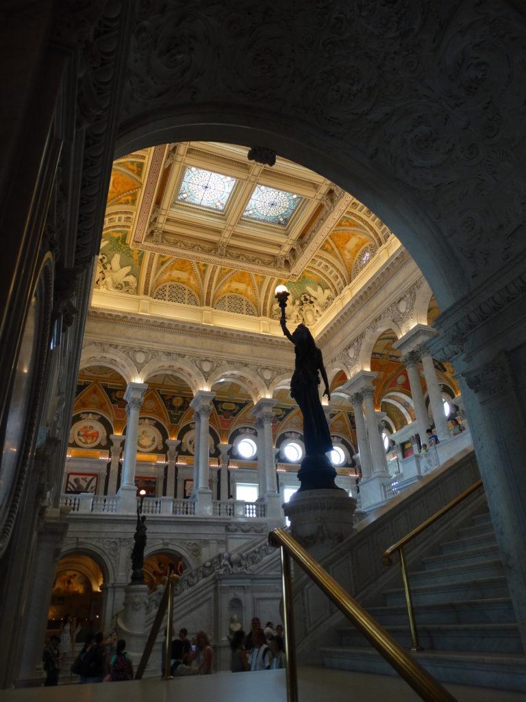 Belle architecture bibliothèque