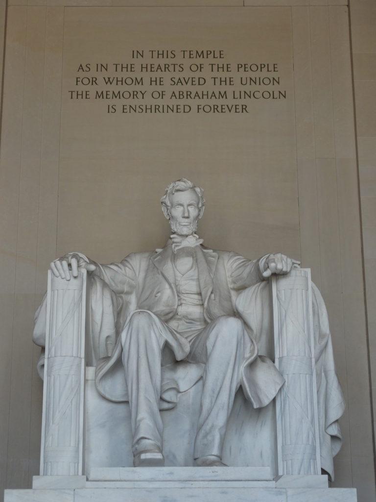 Lincoln monument Wahington