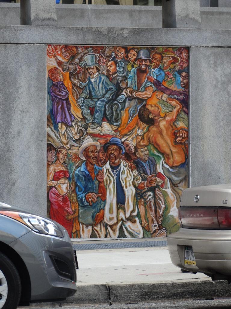Fresque murale banlieue