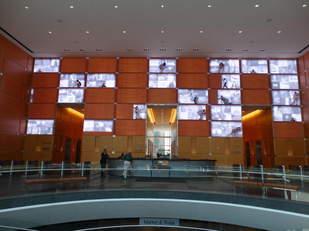 écrans amusants buildings