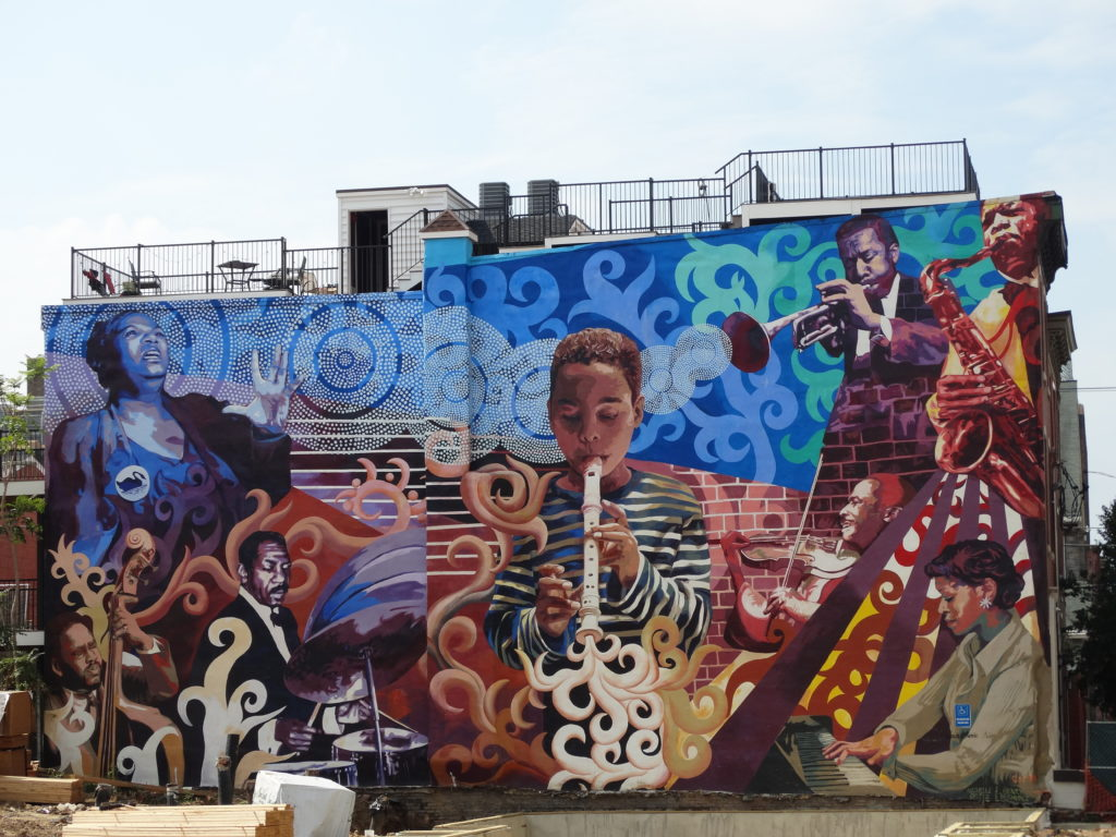 Philly fresque mural jazz