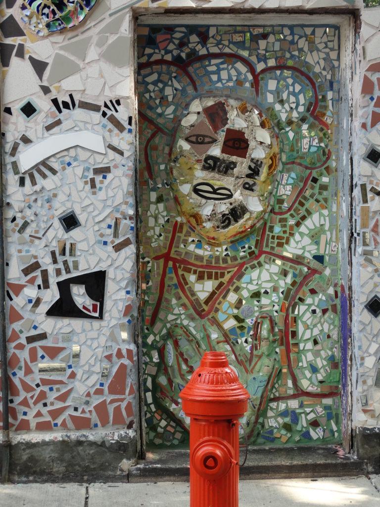 Philadelphie fresque mosaïque
