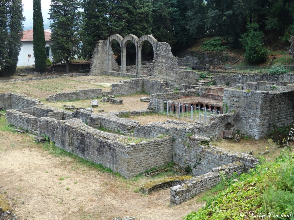 Thermes antique Fiesole