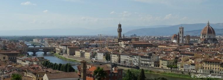 panorama firenze italia