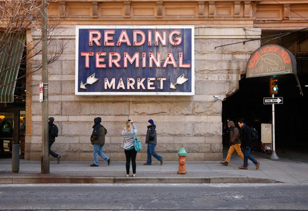 Grand marché Philadelphie