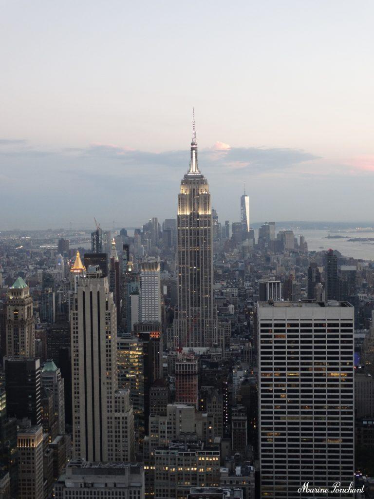 Vue Manhattan du Top of the rock