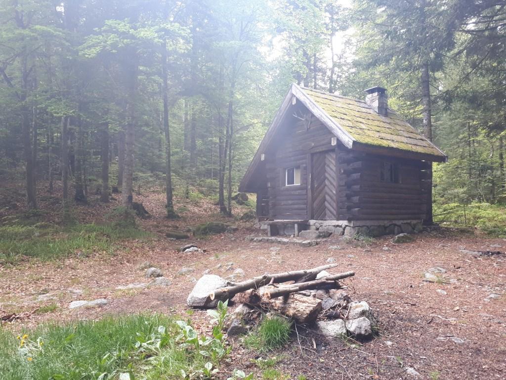Refuge dans la forêt des Vosges