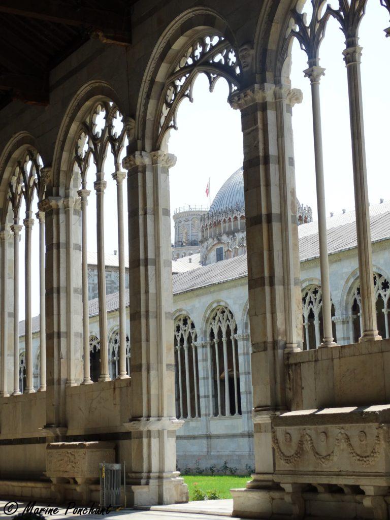 colonnade cimetière pise
