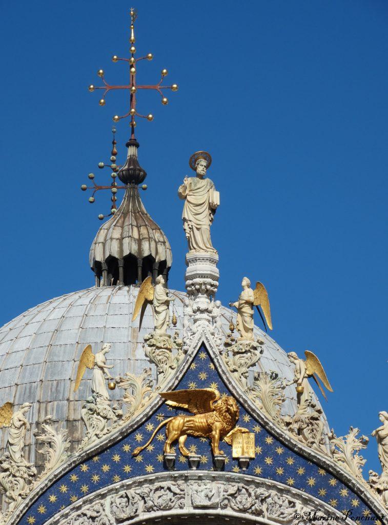 Toit basilique Saint Marc