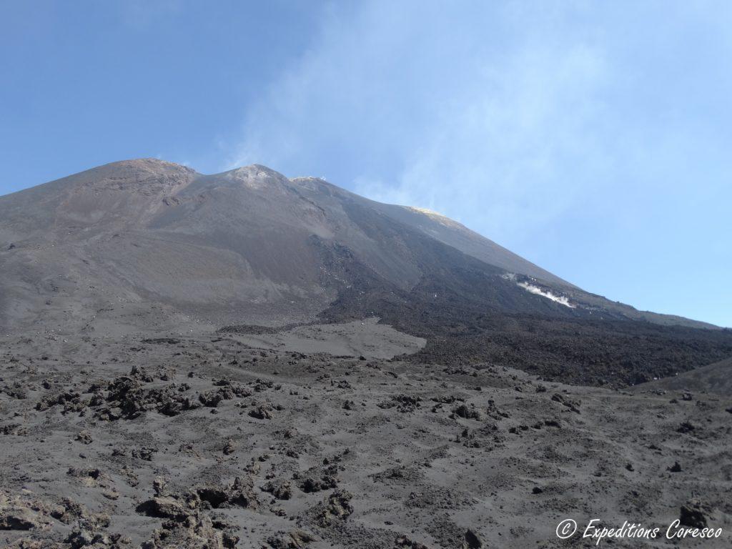 Ancienne couche de lave de 2015