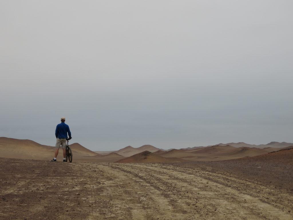 A VTT dans le désert
