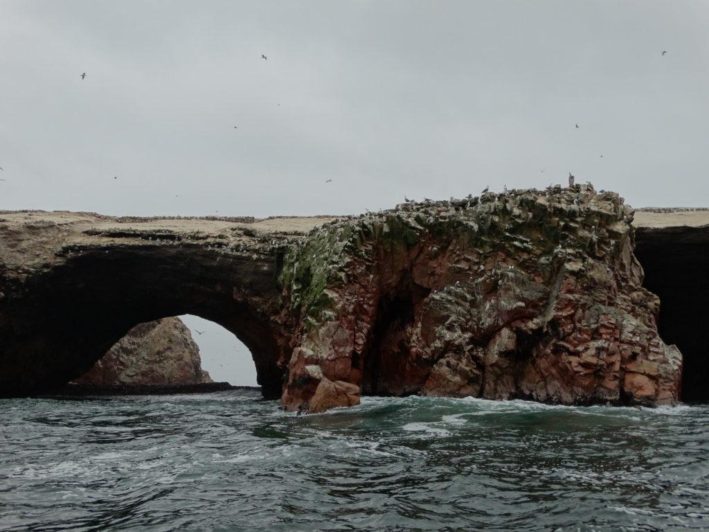 Arrivée sur les îles Ballestas