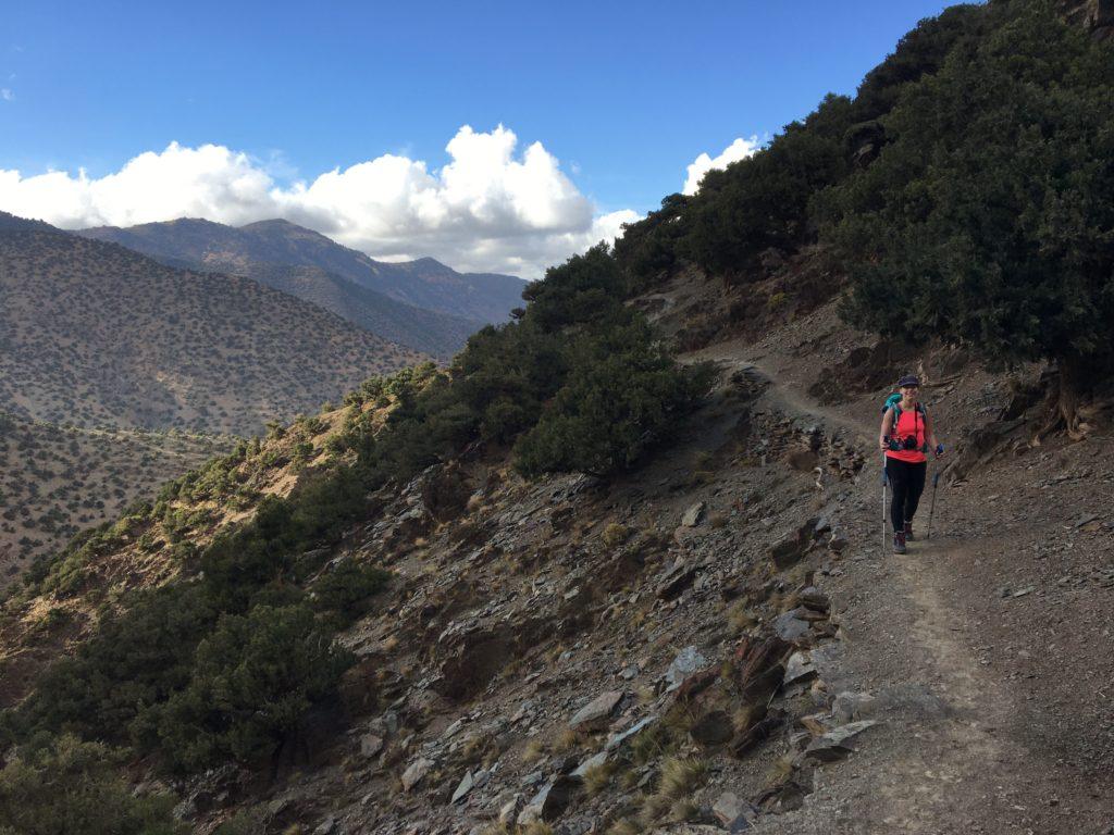 Jour 1 trek Toubkal