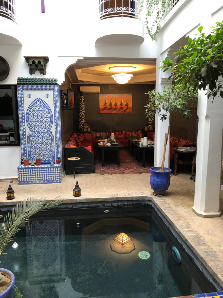 Salon piscine Marrakech