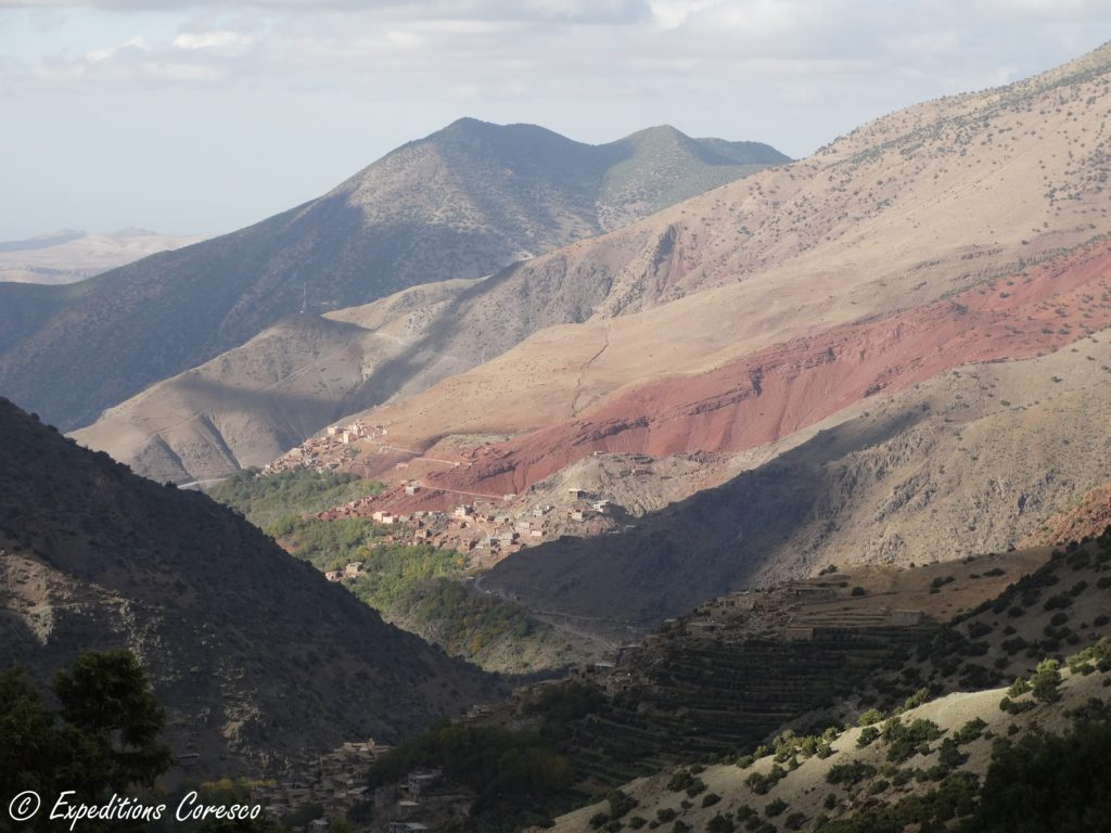 Panorama Atlas marocain