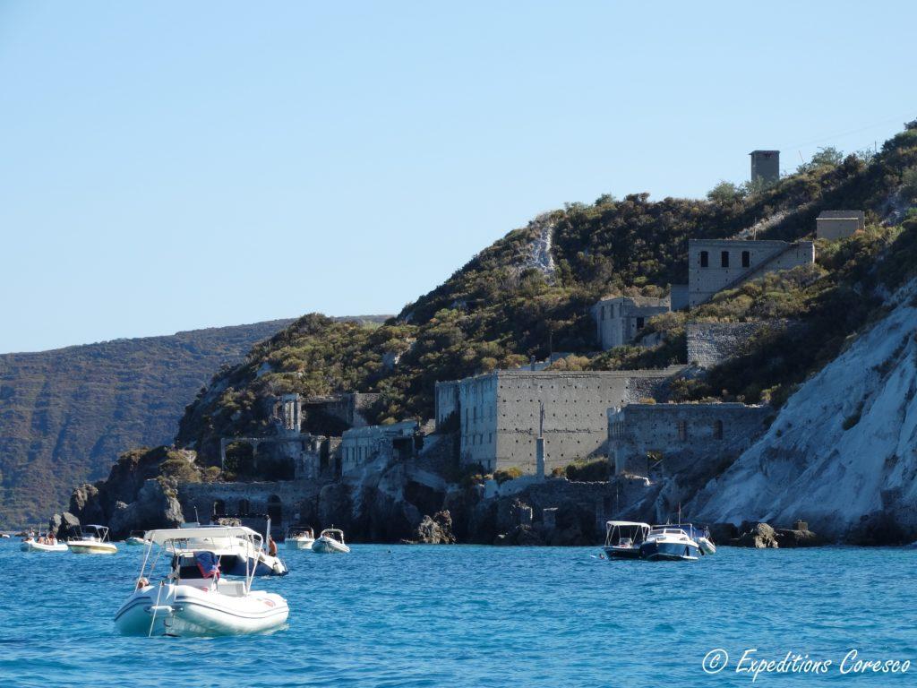 côte nord de Lipari