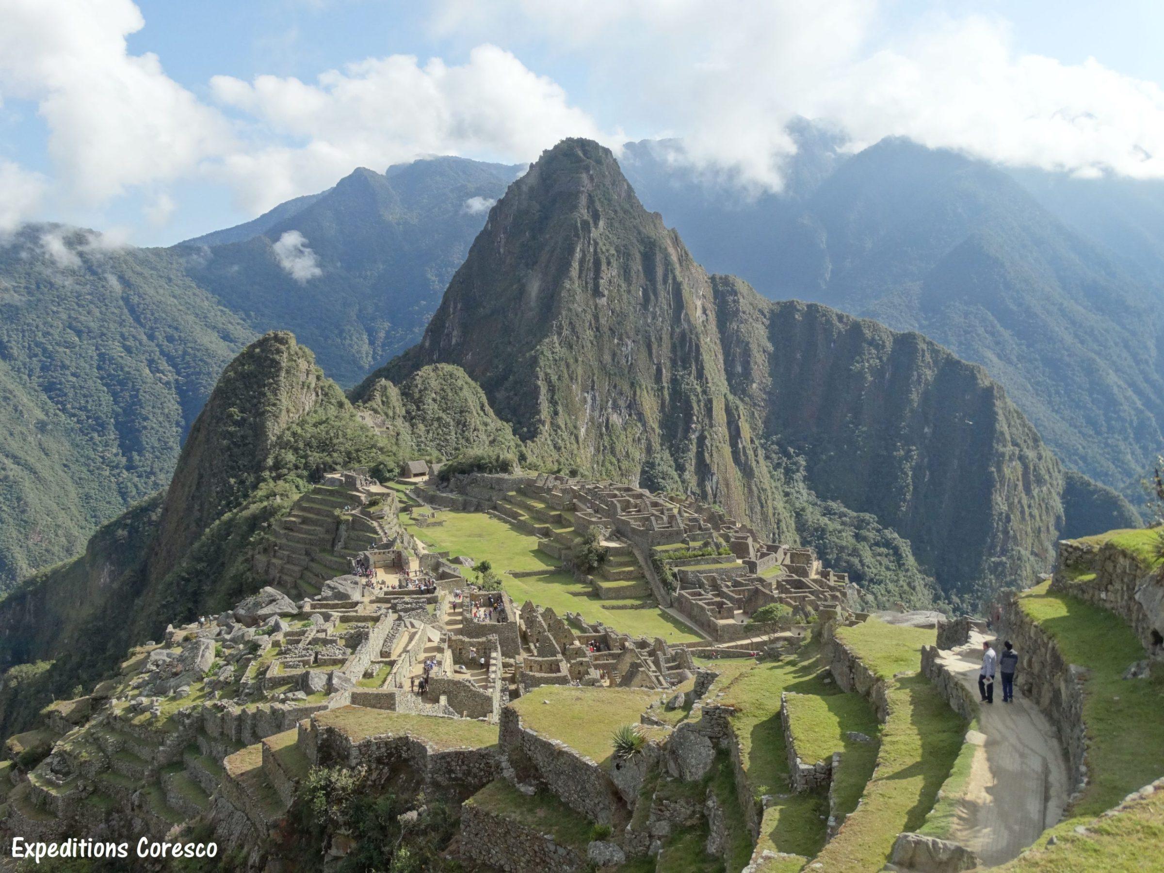 l'impressionnant Machu Picchu