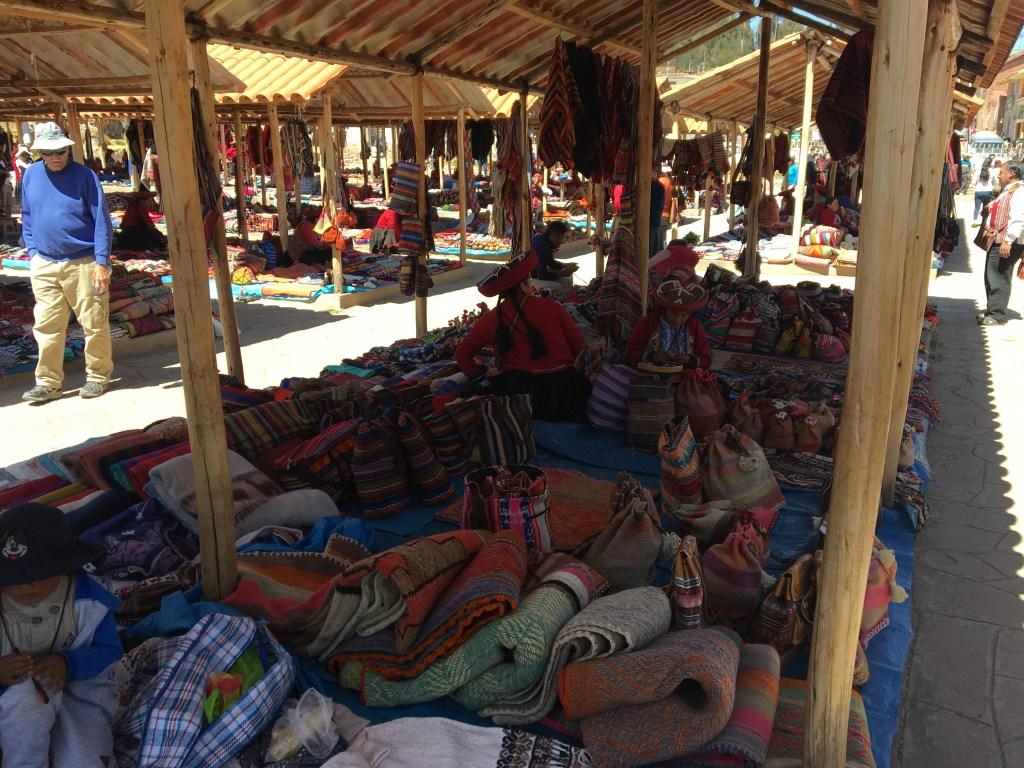 Vendeuses péruviennes à Chinchero