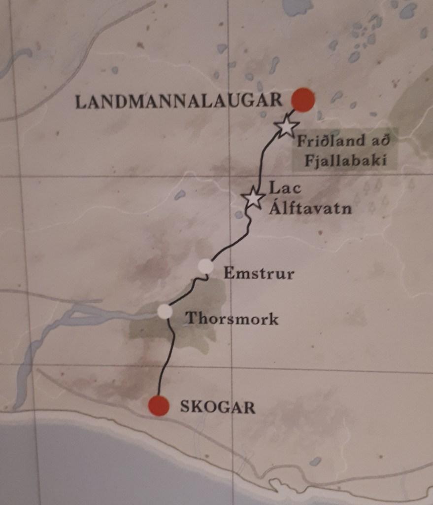 Itinéraire du Laugavegur, Islande