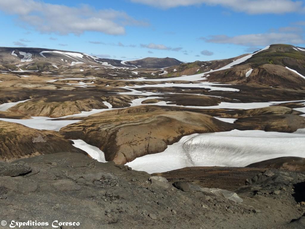 Entre neige et merveilles, Laugavegur - Islande