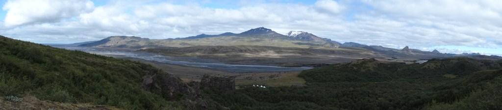 La fôret de Thorsmork, Islande