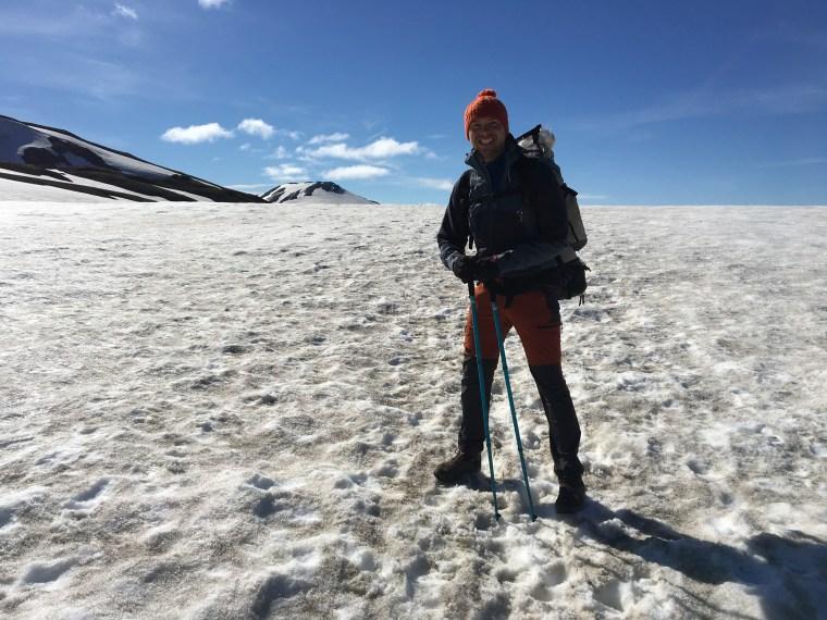 Marche sur les glaciers du Laugavegur
