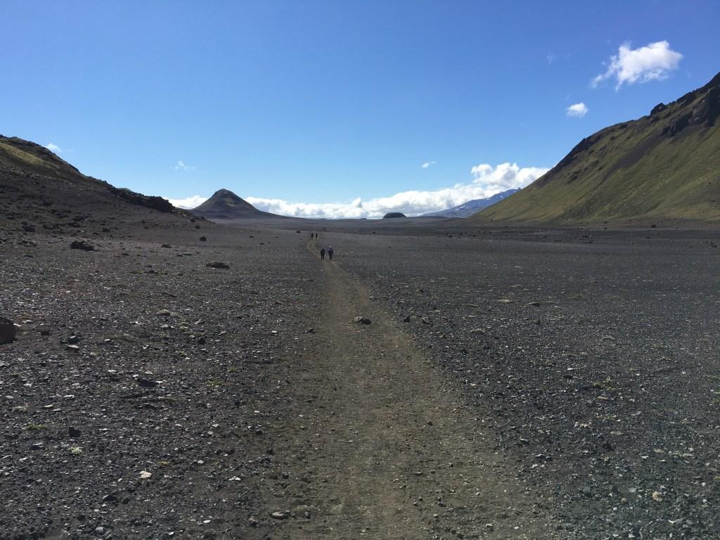 Les déserts de cendres Islandais