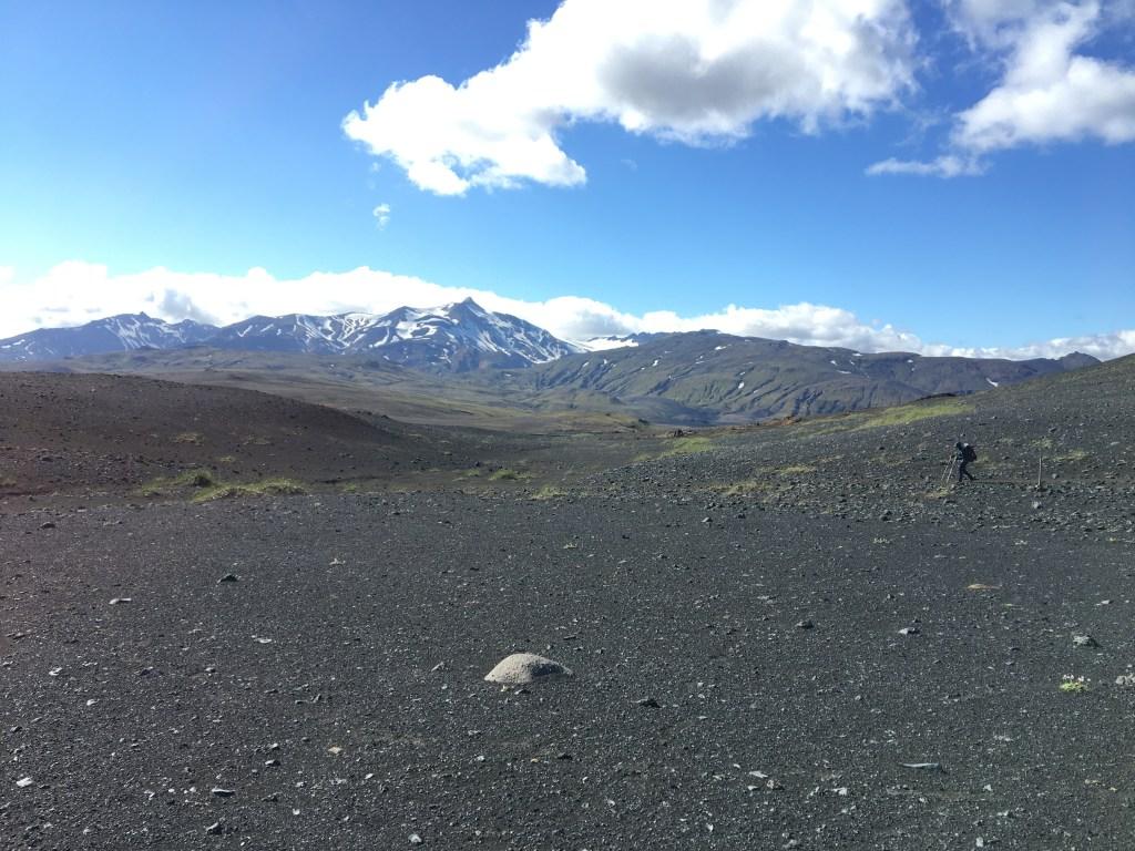 Infinité des déserts Islandais