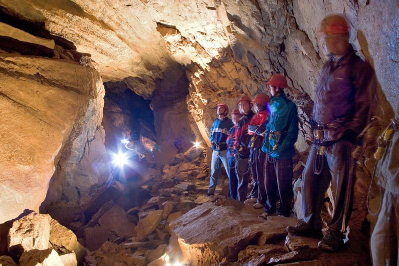 Holt denevérek barlangja. Szlovákia