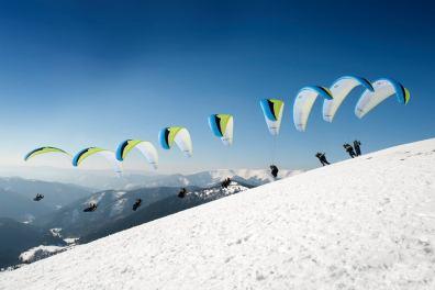 Chopok paraglide