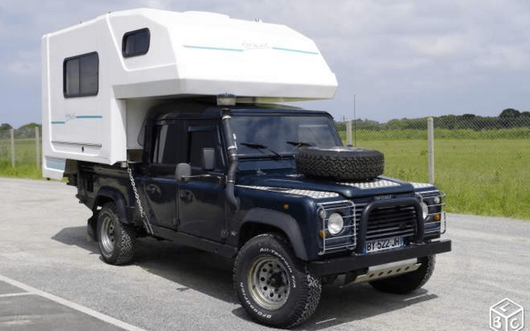 DEFENDER 130 300 TDI + REMOVABLE CAMPER – France