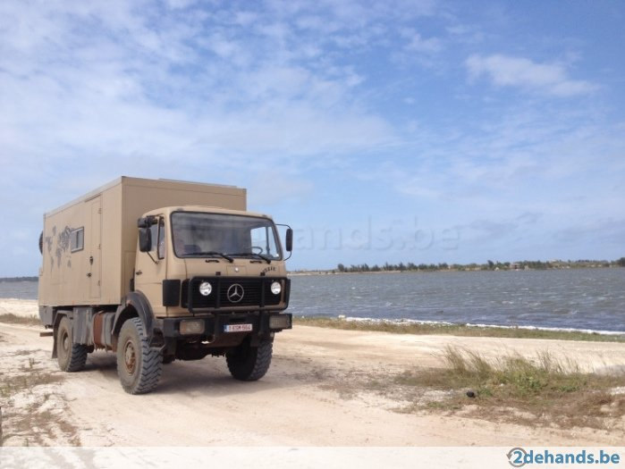 SOLD – Overland Prepared Mercedes1719AK – Belgium