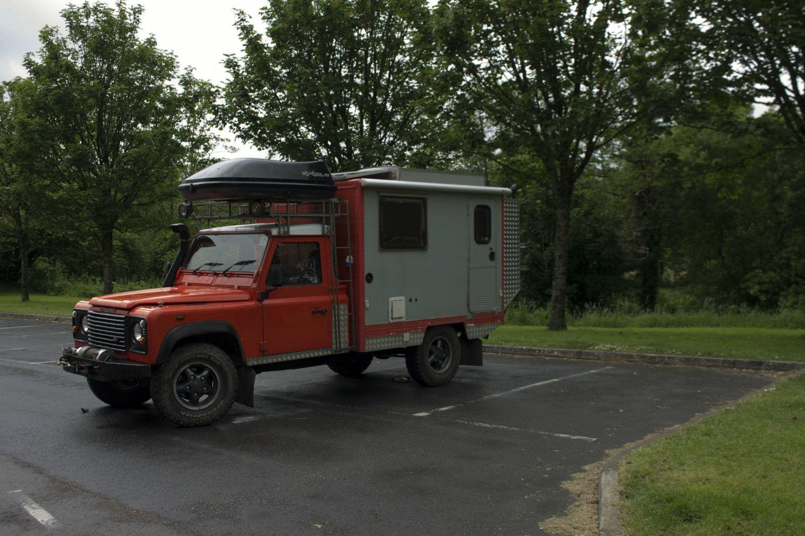 Sold Land Rover Defender 130 Camper 4 215 4 Motorhome Uk