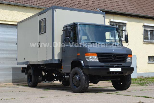 Mercedes 814D 4×4 with Box for Camper Conversion – Germany – €34,990
