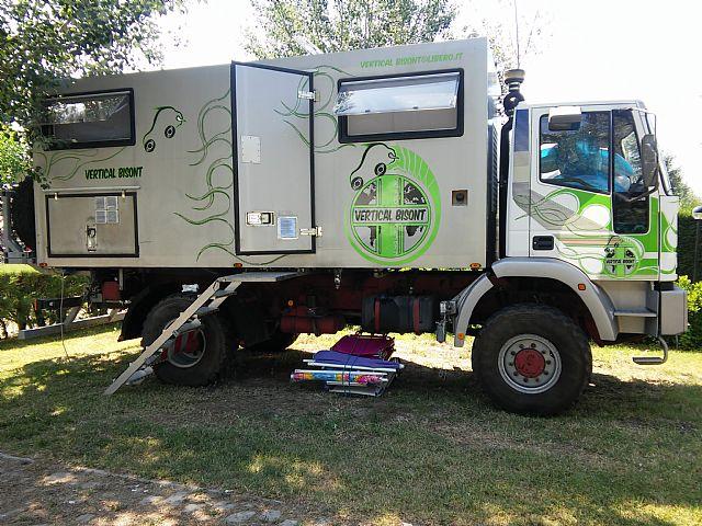 Iveco – Eurocargo 135E18 4X4 Truck Camper – Italy – €70,000